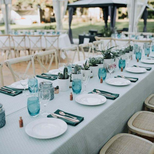 Décoratrice de mariage, art de la table.