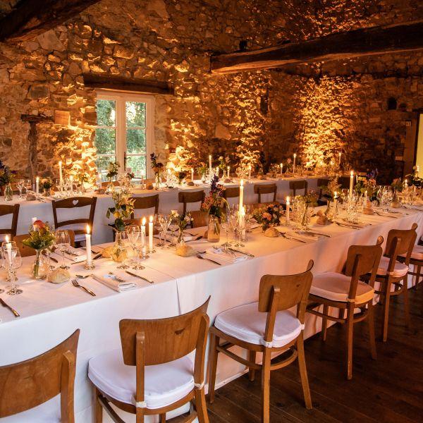 Décoration de mariage, Château d'orion