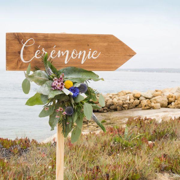 Décoration de mariage, Bartherotte, Cap-Ferret