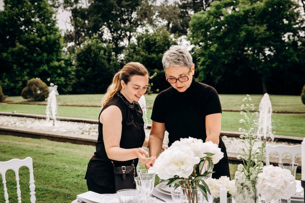 Collaboration entre wedding designer et designer graphique, Châtrau Clair de Lune, Biarritz.