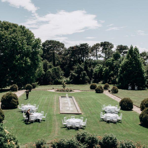 Décoratrice de mariage, Château Clair de Lune, Pays Basque