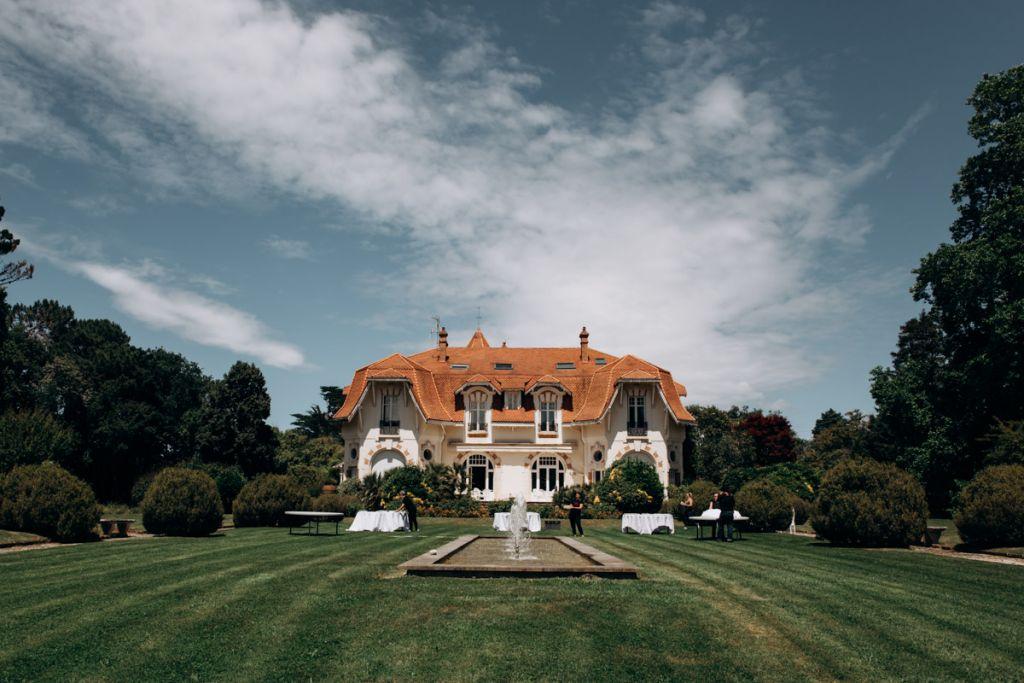 Lieu de mariage, Château Clair de Lune, Biarritz, Pays basque.